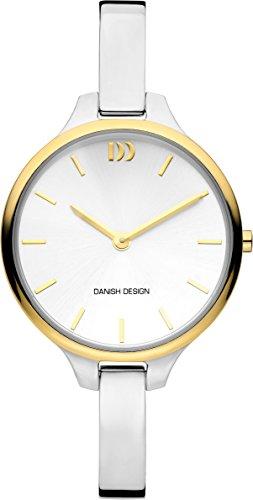 Danish Design Damen Analog Quarz Uhr mit Edelstahl Armband IV65Q1192