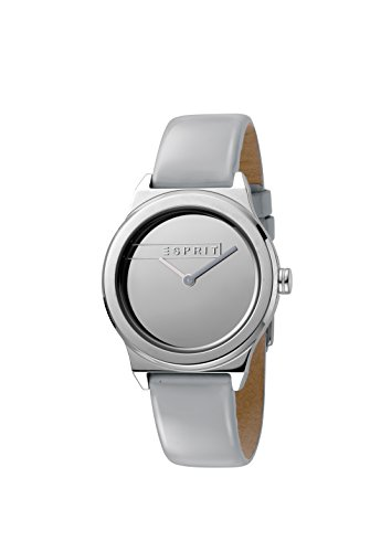 Esprit Damen Analog Quarz Uhr mit Leder Armband ES1L019L0025