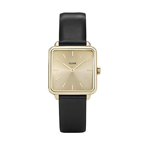 Cluse Damen -Armbanduhr CL60004, Gold / Schwarz