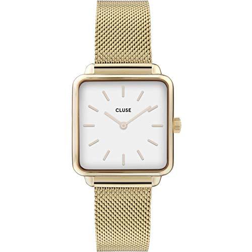 CLUSE Damen Analog Quarz Uhr mit Edelstahl Armband CW0101207002