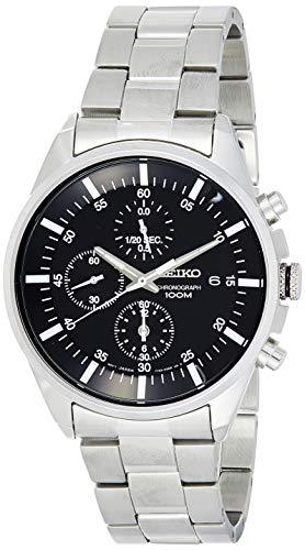 Seiko Herren-Uhr Chronograph mit Metallarmband SNDC81P1