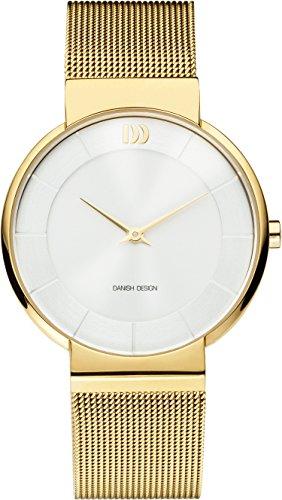 Danish Design Damen Analog Quarz Uhr mit Edelstahl Armband IV05Q1195