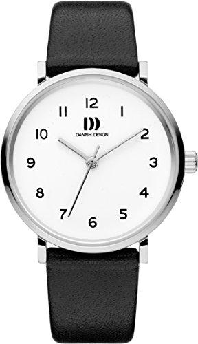 Danish Design Damen Analog Quarz Uhr mit Leder Armband IV12Q1216