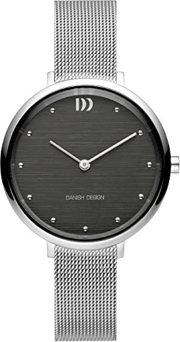 Danish Design Damen Analog Quarz Uhr mit Edelstahl Armband IV64Q1218