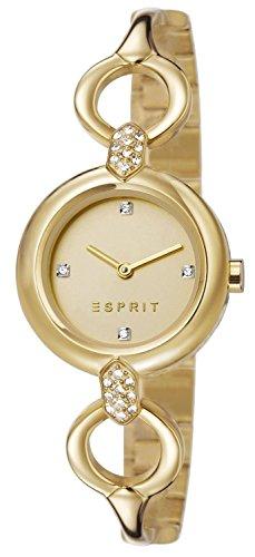 Esprit Damen-Armbanduhr Analog Quarz Edelstahl ES107332003