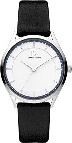 Danish Design Damen Analog Quarz Uhr mit Leder Armband IV12Q1214