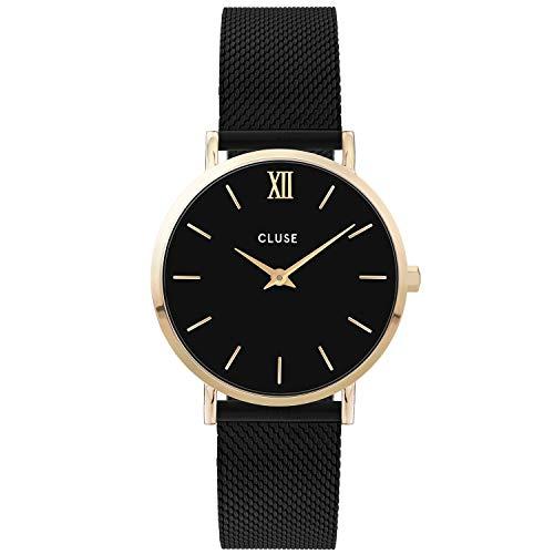CLUSE Damen Analog Quarz Uhr mit Edelstahl Armband CW0101203009