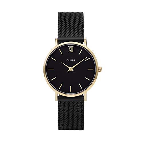 Cluse Damen Armbanduhr Analog Quarz Edelstahl CL30026