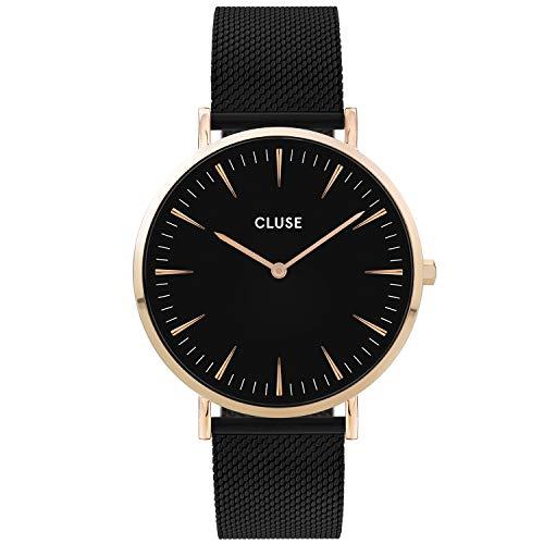 CLUSE Damen Analog Quarz Uhr mit Edelstahl Armband CW0101201008