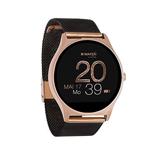 X-WATCH JOLI XW PRO - Smartwatch Damen iOS/iPhone - Fitnessuhr - Android mit WhatsApp Info 54030