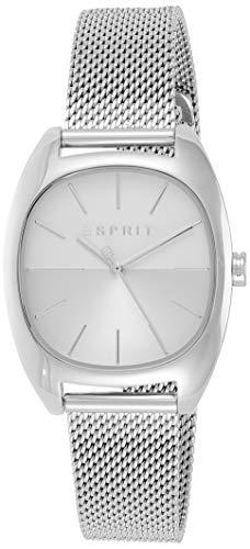 Esprit Damen Analog Quarz Uhr mit Edelstahl Armband ES1L038M0075