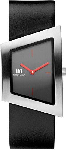 Danish Design Damen Analog Quarz Uhr mit Leder Armband IV24Q1207
