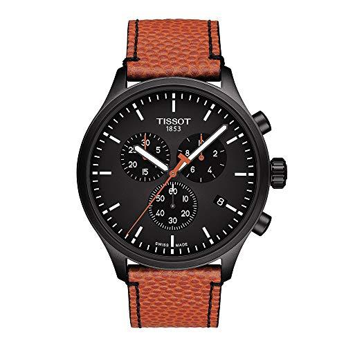 Tissot Herren Uhr T1166173605112 Leder Quarz Chrono XL NBA Special Edition
