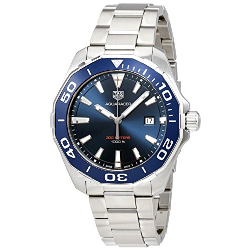 TAG Heuer Aquaracer Herren-Armbanduhr 43mm Quarz Analog WAY101C.BA0746