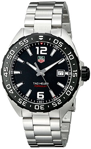 Tag Heuer WAZ1110.BA0875–Armbanduhr, Armband aus Edelstahl Farbe Silber