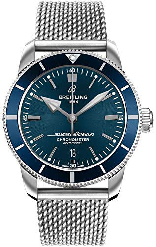 Breitling Superocean Heritage II B20 Automatik 44 Blau Zifferblatt Herrenuhr AB2030161C1A1
