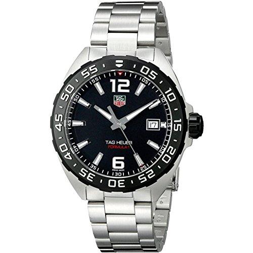 TAG Heuer WAZ1110.BA0875 - Armbanduhr, Armband aus Edelstahl, Silber